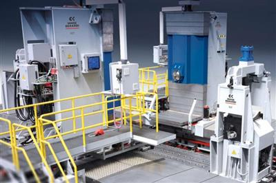 FCT - Machining center for turbine rotors