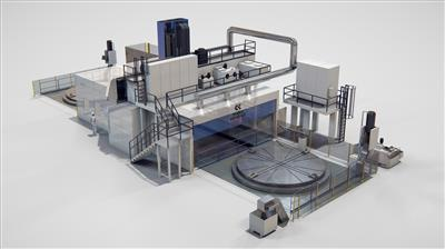 Large-scale Multitasking Machining Centre